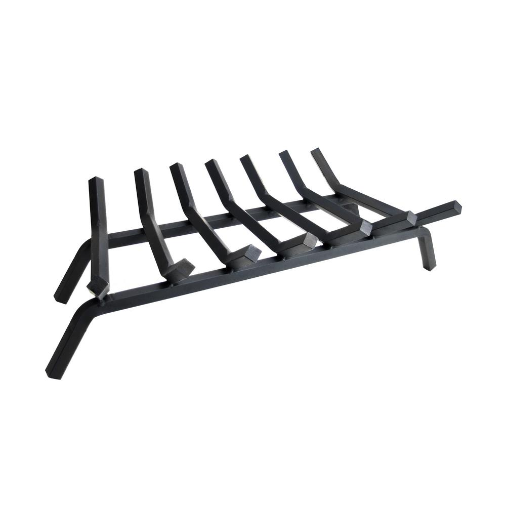 3/4 in. 27 in. 7-Bar Steel Fireplace Grate