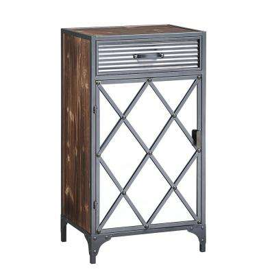 Trent Collection Mirrored Cabinet