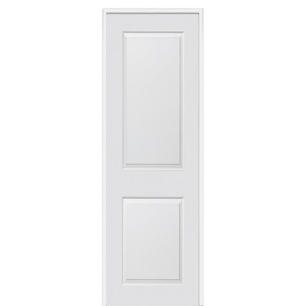 Mmi Door 36 In X 96 In Smooth Carrara Right Hand Solid Core Primed Molded Composite Single Prehung Interior Door Z0364273r The Home Depot