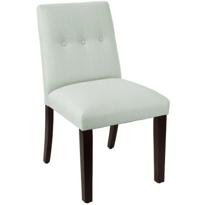 Klein Pool Tapered Dining Chair with Buttons