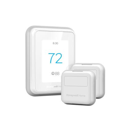 T9 7-Day Programmable Smart Thermostat with Touchscreen Display and 2-Pack of Smart Room Sensors