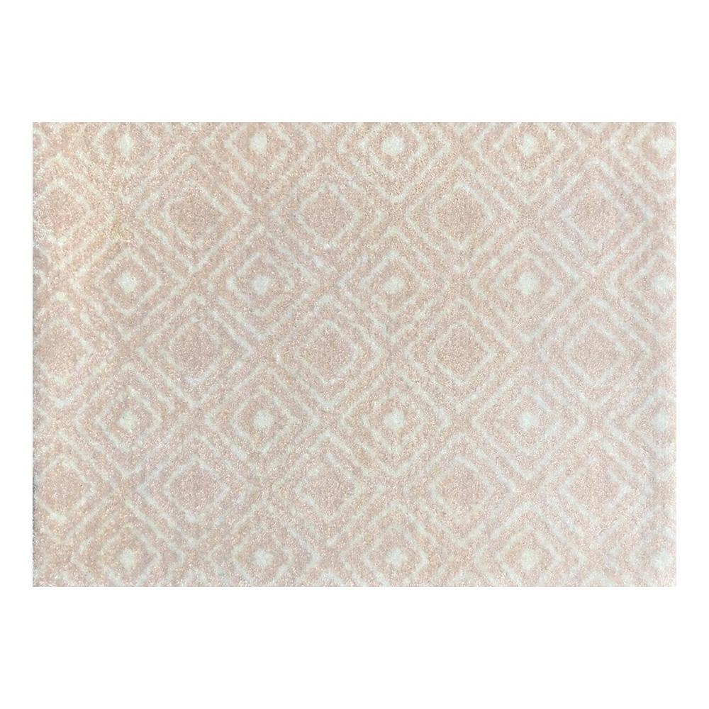 Studio 67 In-Home Washable/Non-Slip Millinnial Pink 2 Ft