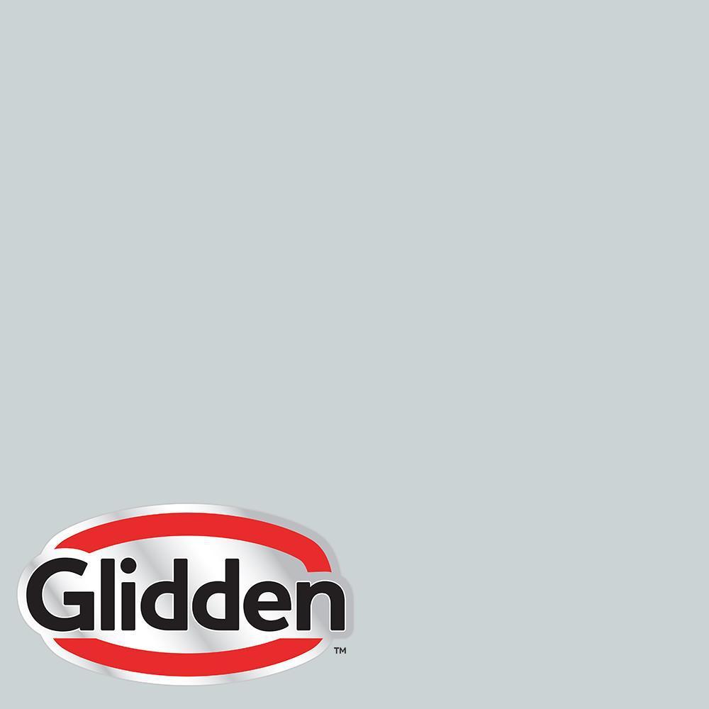 Glidden Essentials 1 Gal Hdgcn41 Quiet Rain Semi Gloss Exterior Paint Hdgcn41ex 01sg The Home Depot