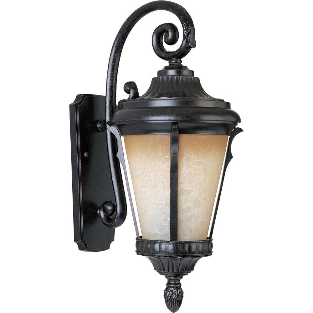 Maxim Lighting Odessa 1 Light Espresso Outdoor Wall Mount