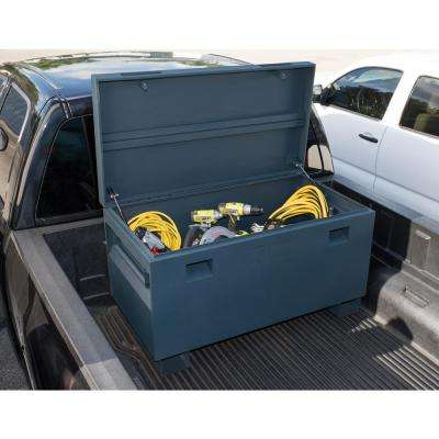 45 in. Job Site Box, Gray