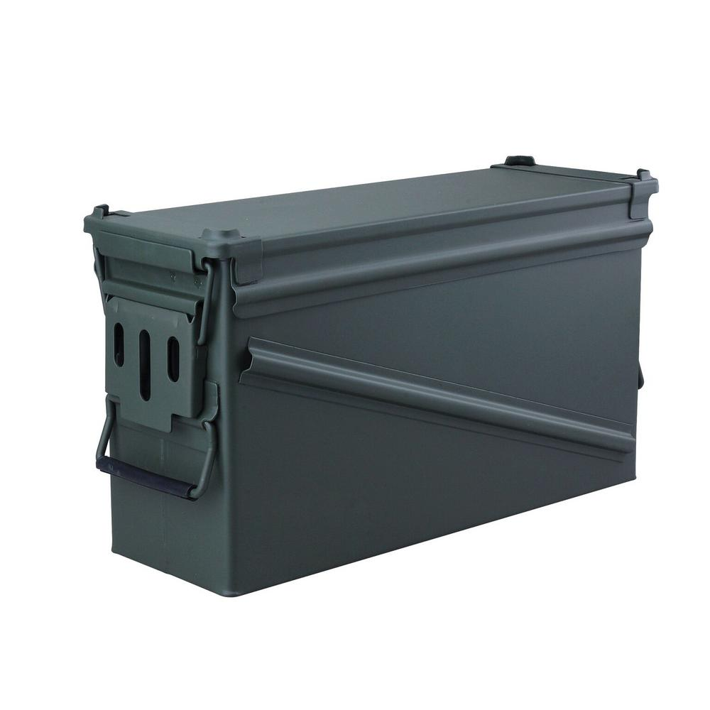 High Desert 185 in x 65 in Steel Metal Ammo Storage Box in OD