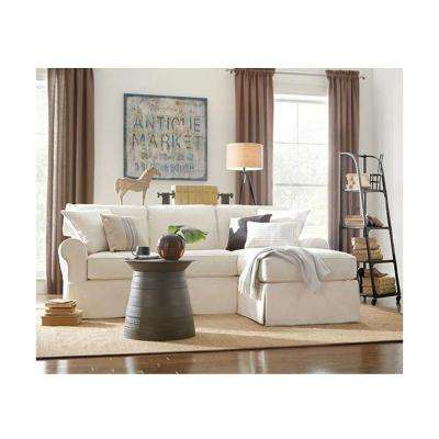 Mayfair 2 Piece Classic Natural Sectional Part 51