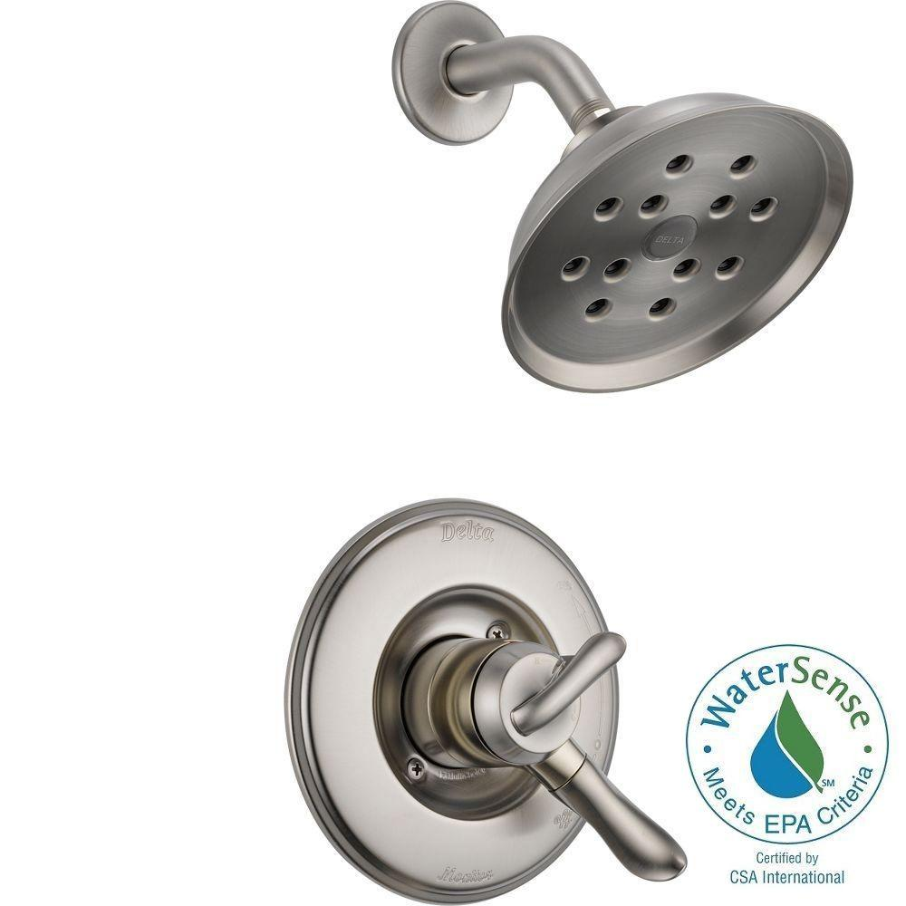 linden 1handle h2okinetic shower only faucet trim kit in stainless valve