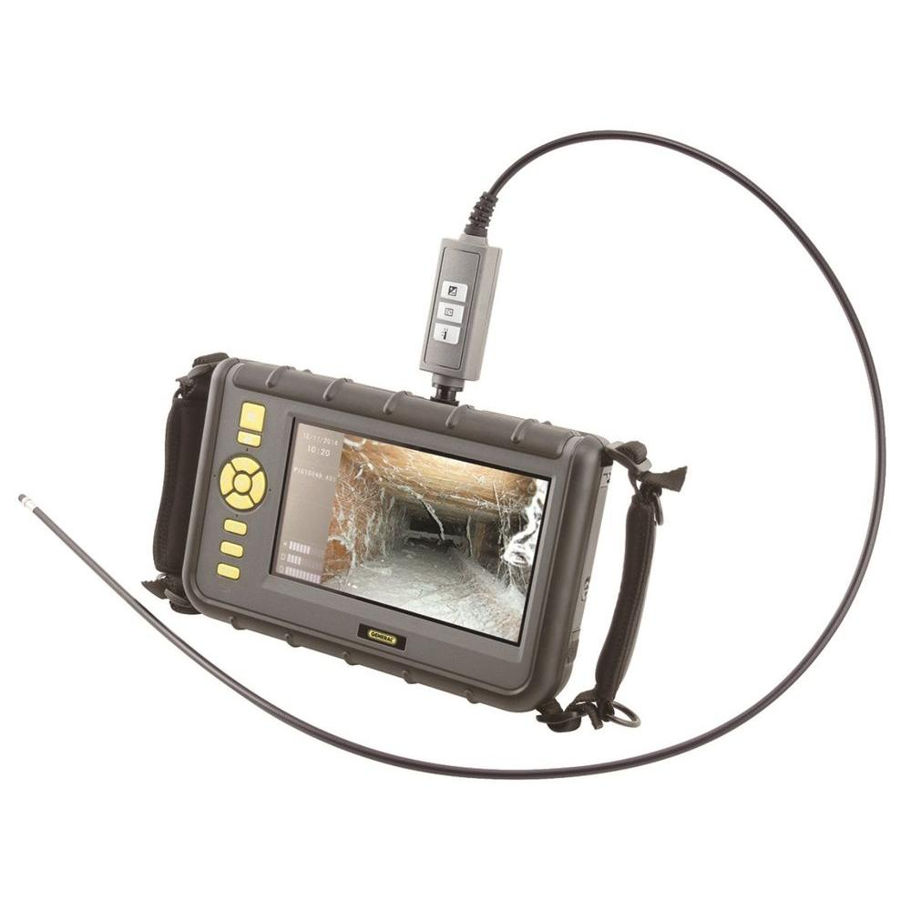 Heavy-Duty Video Inspection System with Large 7 in. LCD Screen
