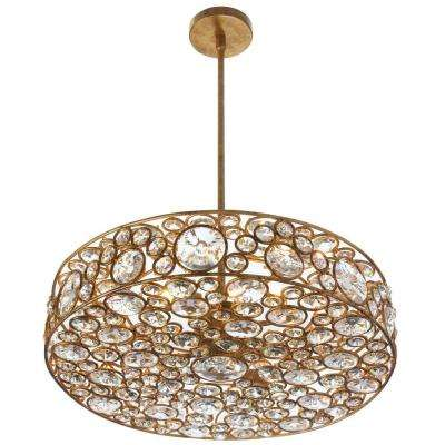 Lynda 6-Light Gold Chandelier