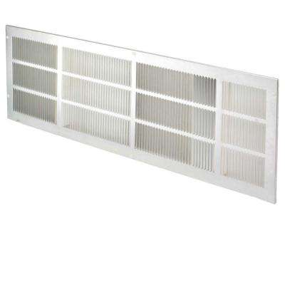 42 in. x 16 in. Rear Aluminum Stamped Grille