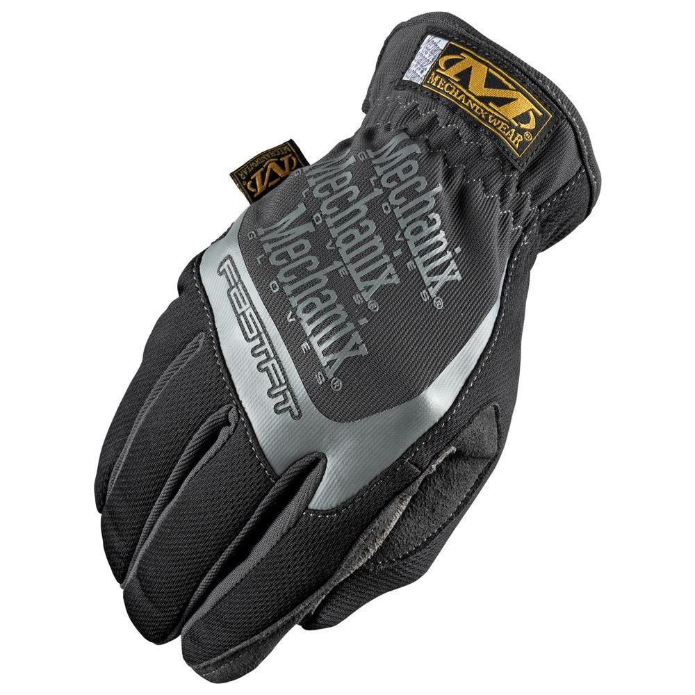 null Large Fast Fit Glove in Black