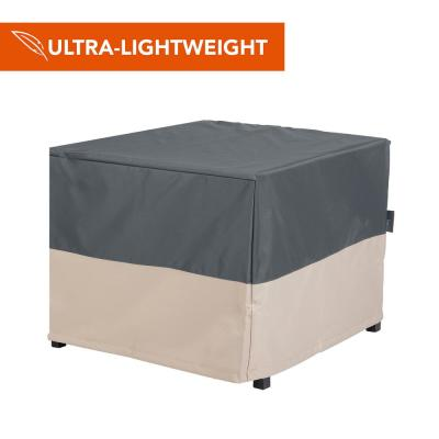 Renaissance Ultralite Water Resistant Firepit Table Cover, 42 in. W x 42 in. D x 22 in. H, Gray