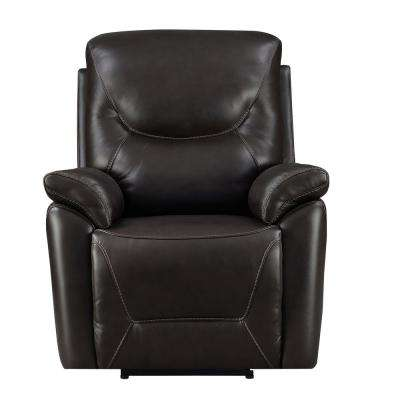 Brown Manning Rocker Recliner