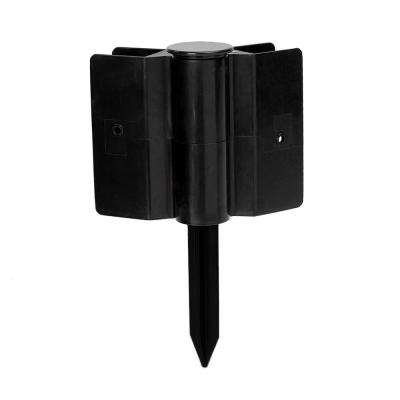 One Inch Series 6 in. Black Plastic Stacking Joint (2-Pack)