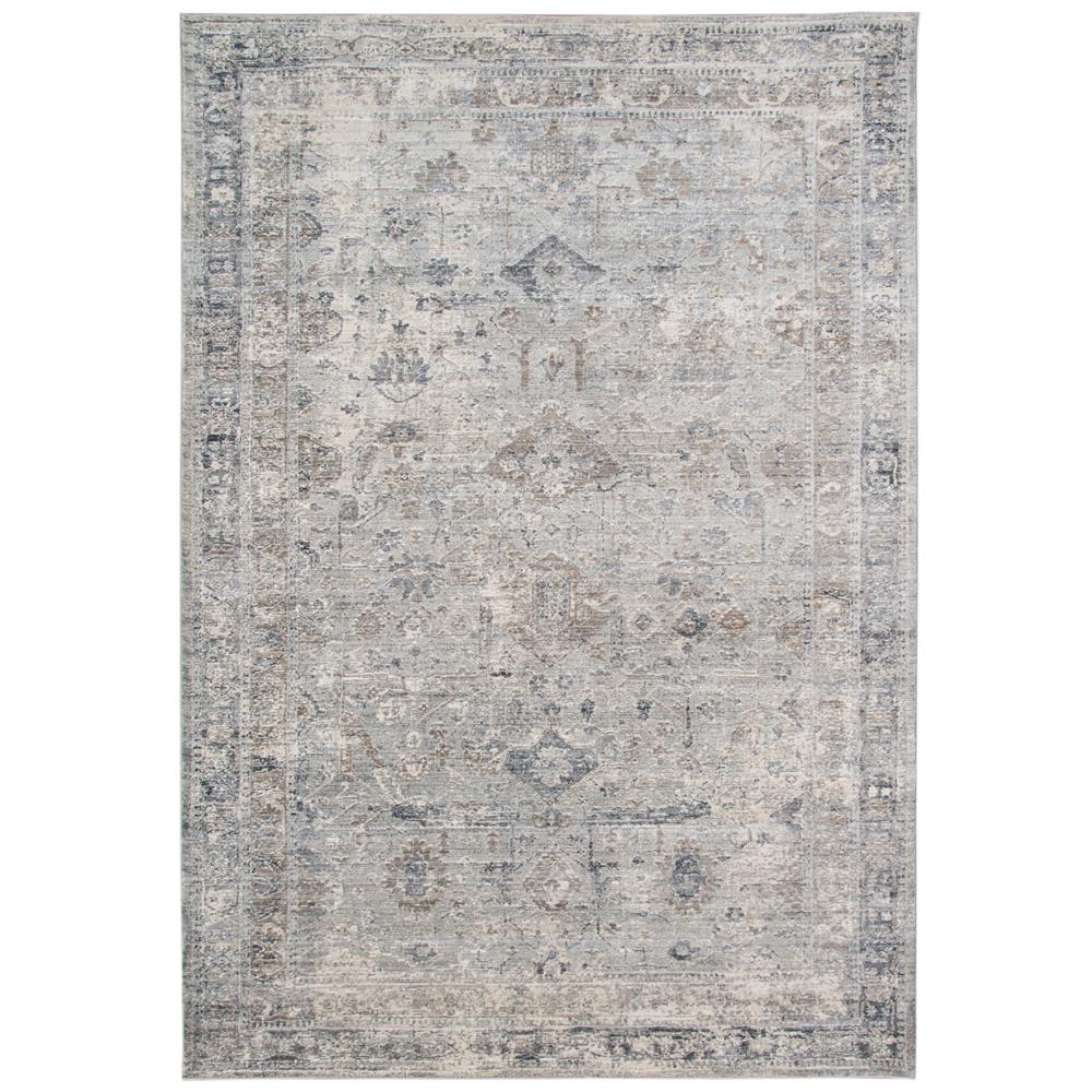 Amer Rugs Fareville Brown Bordered 3 ft. 3 in. x 4 ft. 11 in. Area Rug