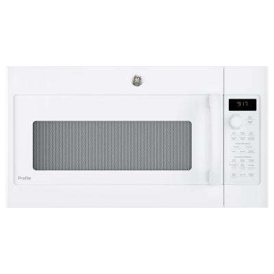 1.7 cu. ft. Convection Over the Range Microwave Oven in White