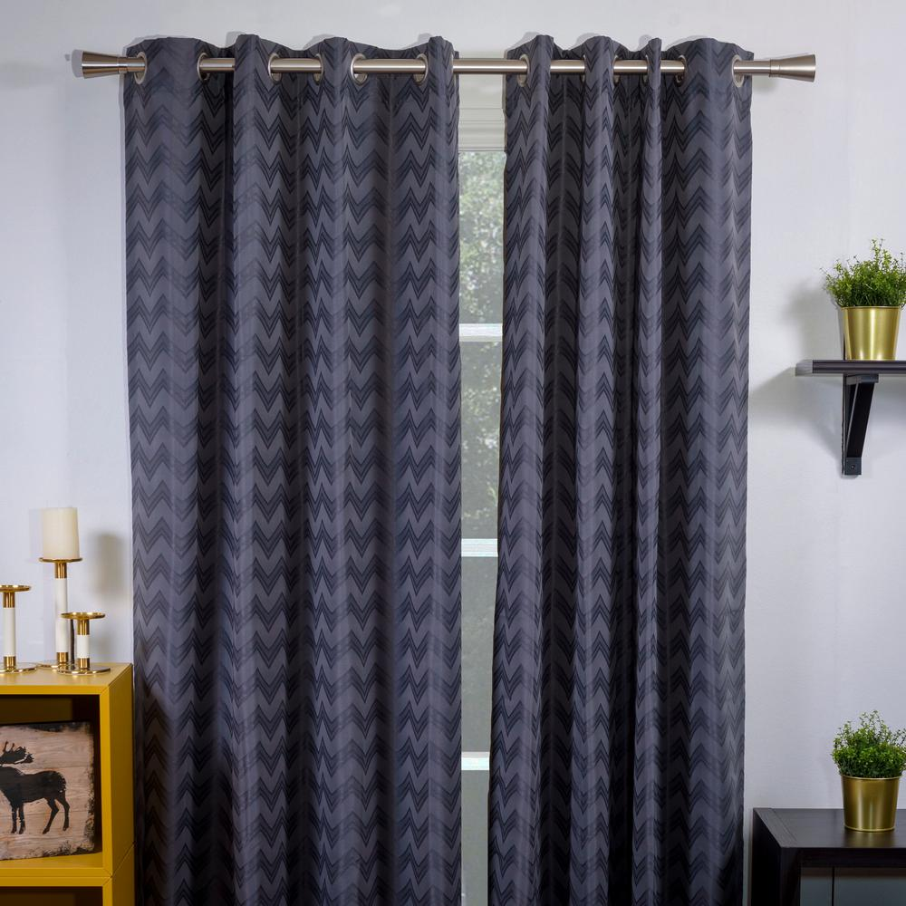 Non Telescoping Single Curtain Rod