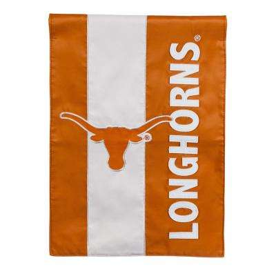 1 ft. x 1-1/2 ft.  University of Texas Embellished Garden Flag