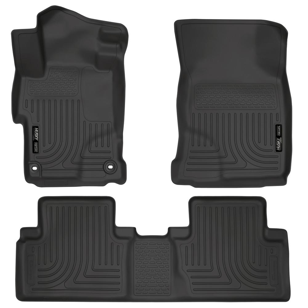 Husky Liners Front Amp 2nd Seat Floor Liners Fits 14 15