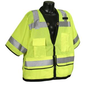 Radians Cl 3 Heavy Duty Surveyor green Dual Safety Vest by Radians
