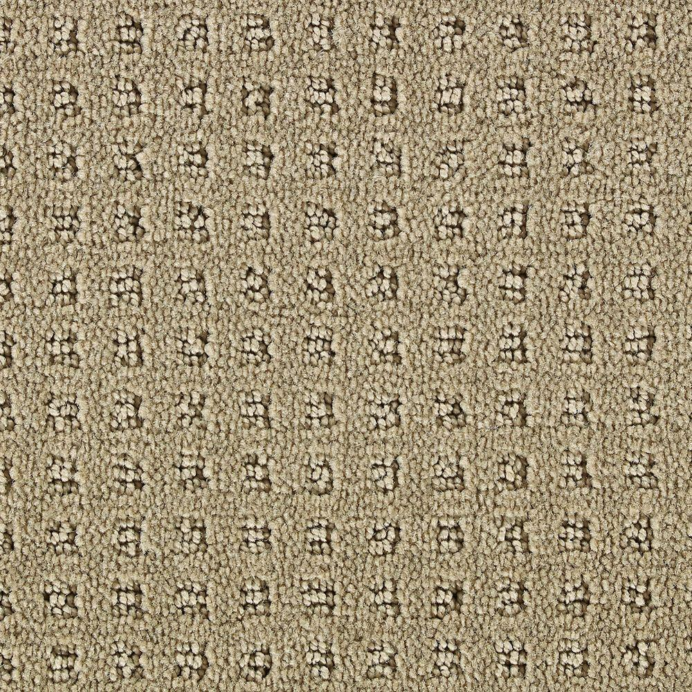 Martha Stewart Living Springwood Nutshell - 6 in. x 9 in. Take Home Carpet Sample