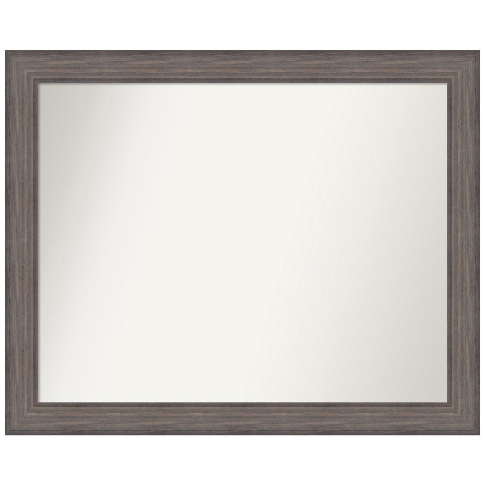 Amanti Art Choose Your Custom Size 42.25 in. x 34.25 in. Country Barnwood Decorative Wall Mirror was $549.95 now $270.02 (51.0% off)