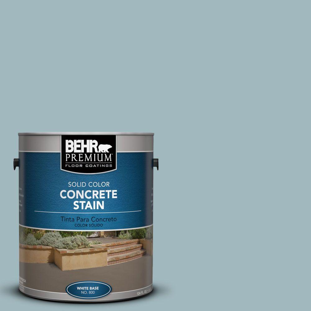 1 gal. #PFC-51 Nautical Blue Solid Color Interior/Exterior Concrete Stain