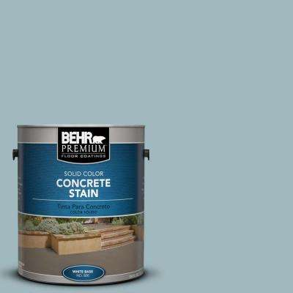 1 gal. #PFC-51 Nautical Blue Solid Color Interior/Exterior Concrete Stain