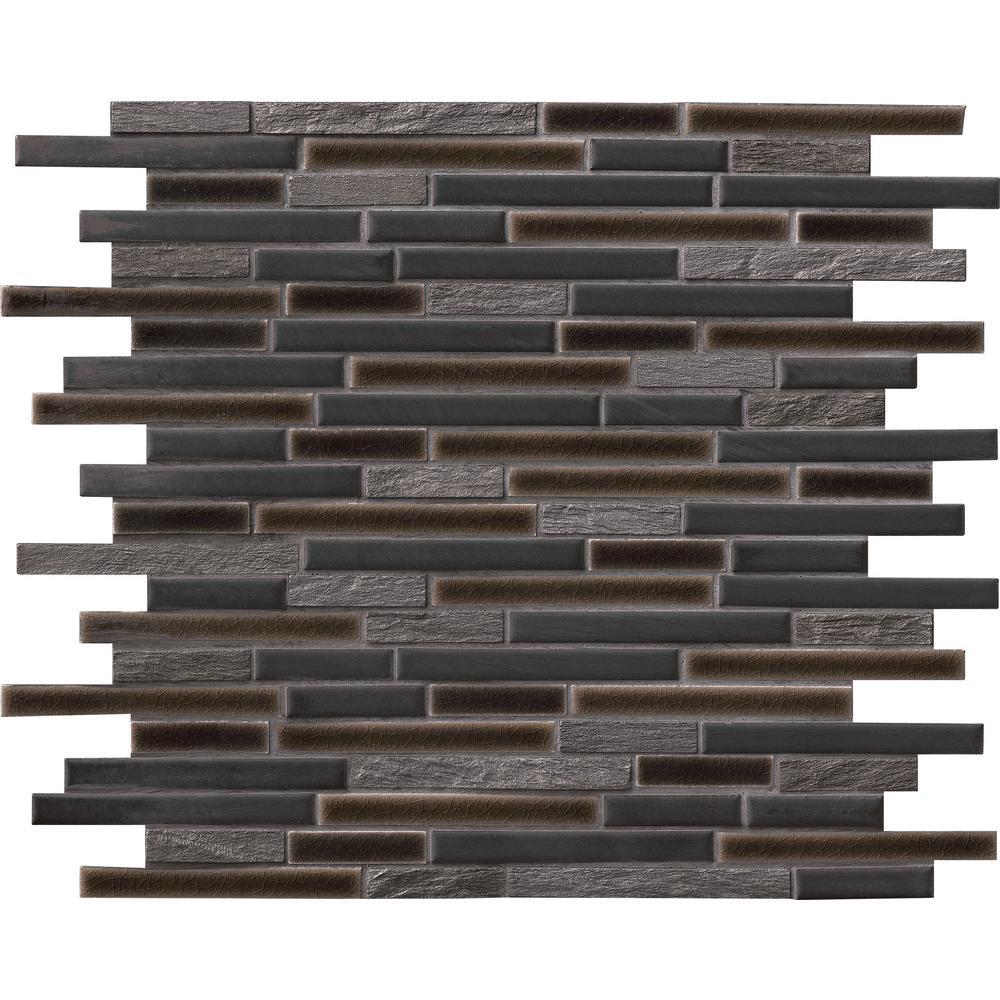 Black - Mosaic Tile - Tile - The Home Depot