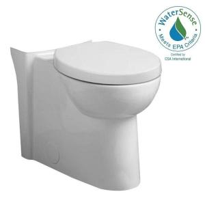 American Standard Studio Chair Height 1.6 GPF Elongated Toilet Bowl Only in White by American Standard