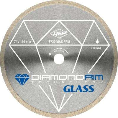 7 in. Glass Tile Diamond Blade for Wet Tile Saws