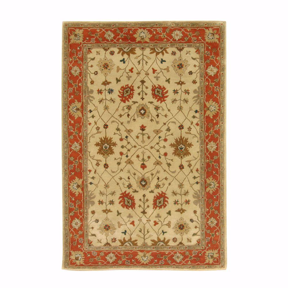 Home Decorators Collection Dijon Gold 6 ft. x 9 ft. Area Rug