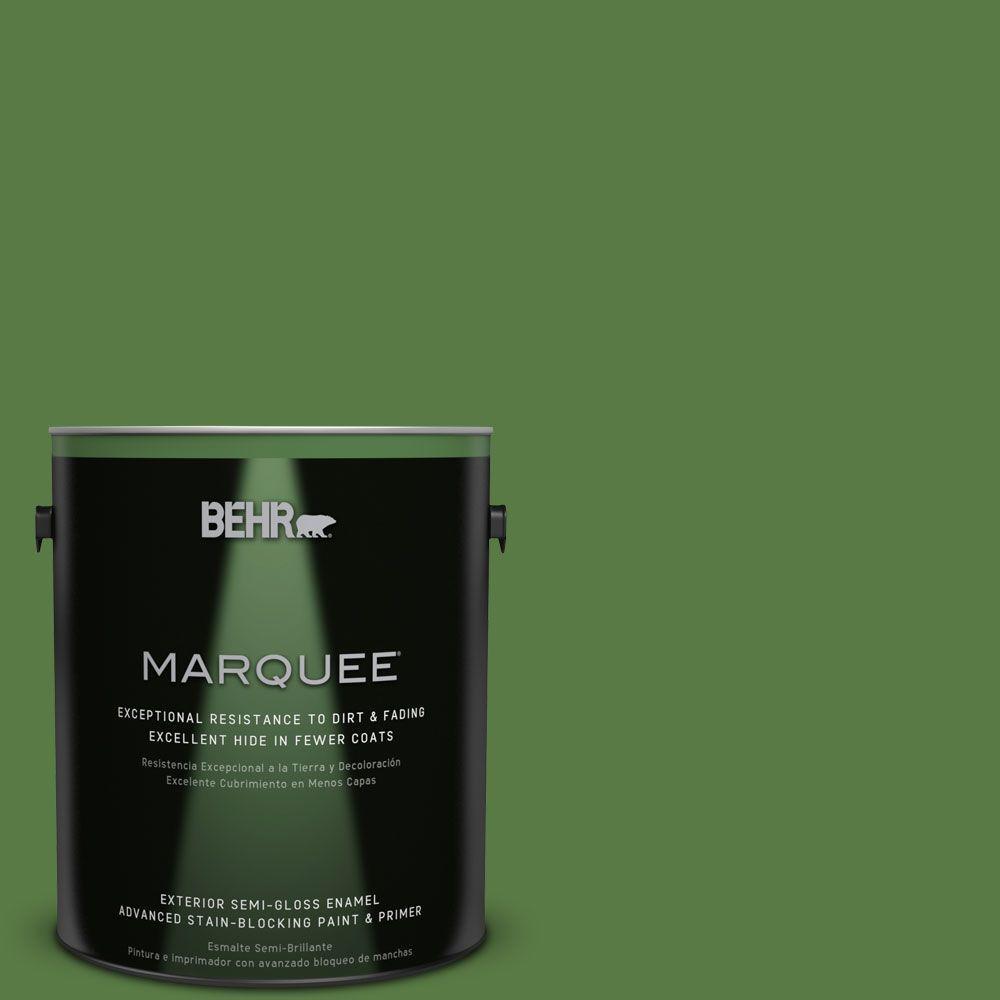 S H 430 Mossy Green Semi Gloss Enamel
