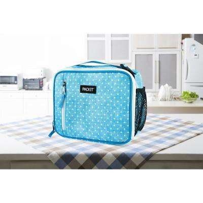 Chambray Dot Classic Lunch Box