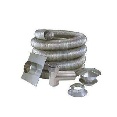 3 in. x 25 ft. All Fuel Stainless Steel Kit