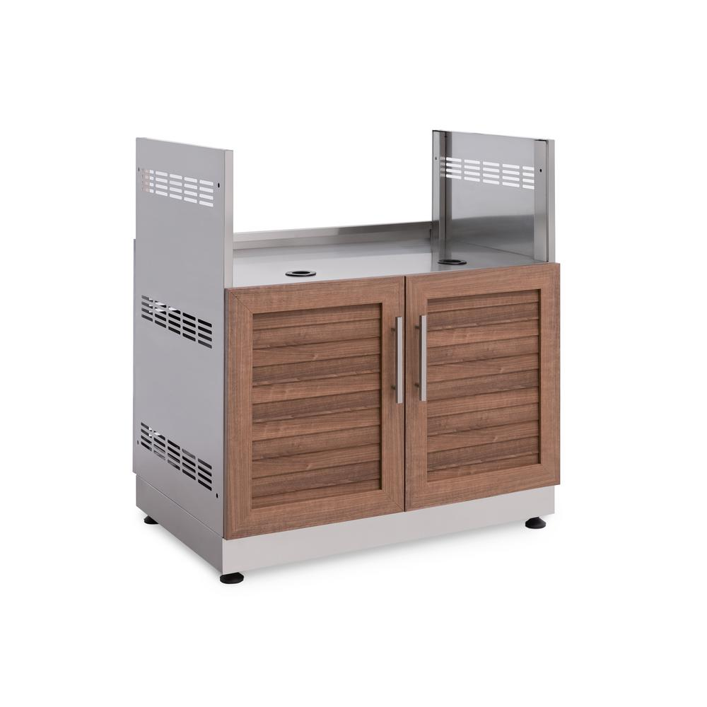 New Metal Kitchen Cabinets: NewAge Products Natural Cherry 33 In. Insert Grill 33 In