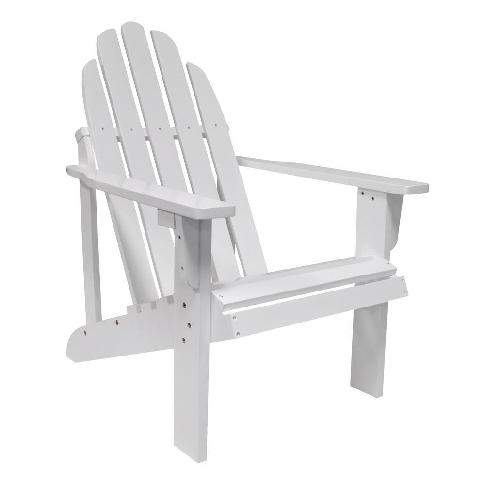 Catalina White Cedar Wood Adirondack Chair