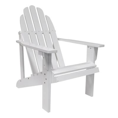 Excellent Natural White Oak Wood Outdoor Adirondack Chair And Ottoman Creativecarmelina Interior Chair Design Creativecarmelinacom