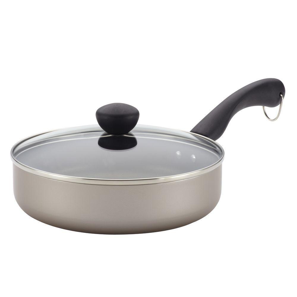 2.75 Qt. Aluminum Nonstick Saute Pan with Lid