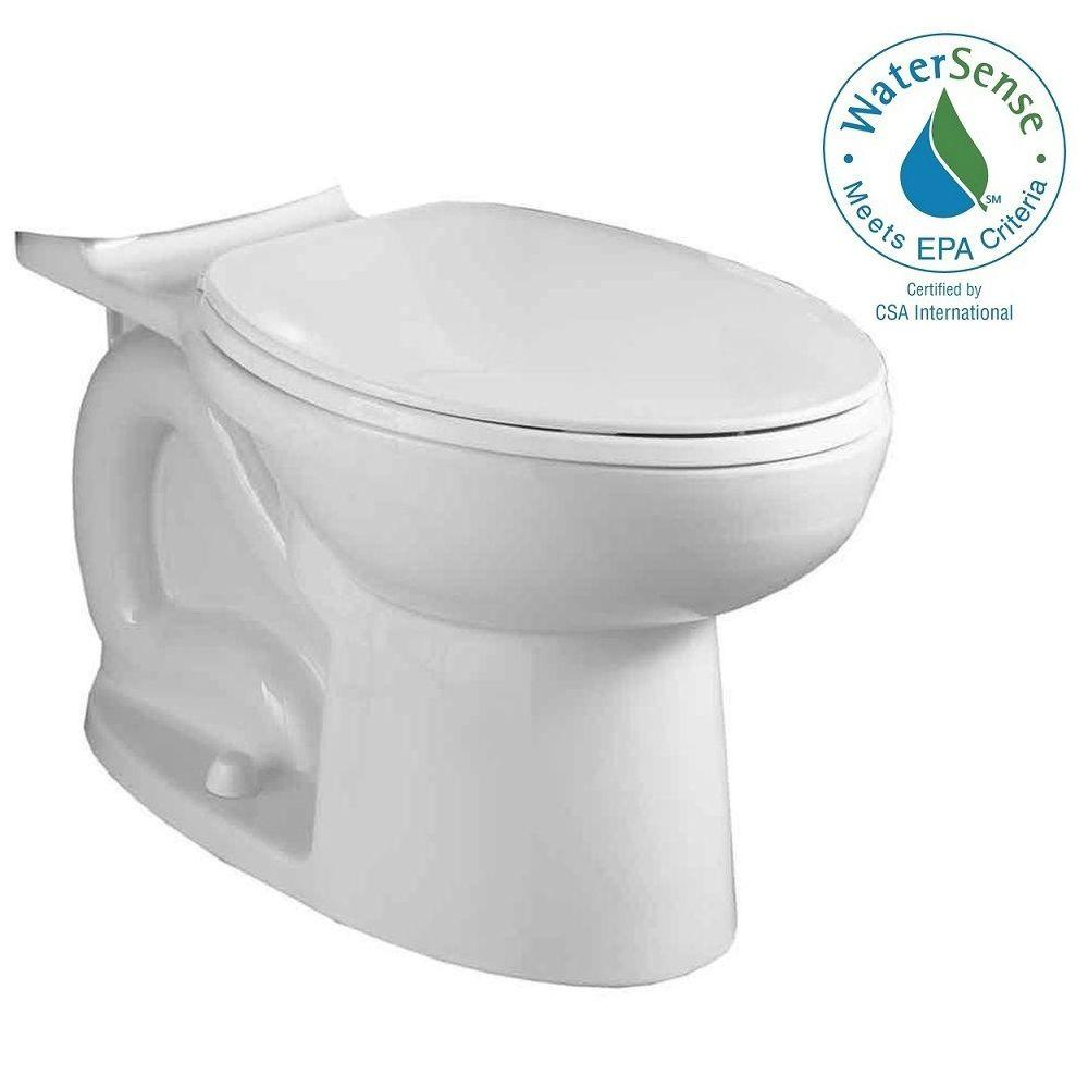 Cadet 3 FloWise Compact Chair Height Elongated Toilet Bowl Only in