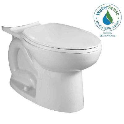 Cadet 3 FloWise Compact Chair Height Elongated Toilet Bowl Only in White