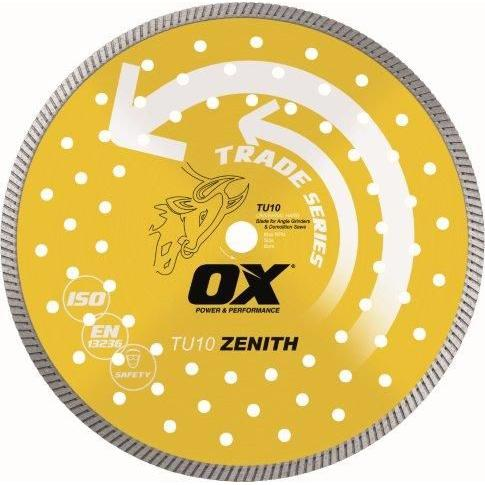OX Trade Universal 9 in. 7/8 in. - 5/8 in. Bore Diamond Blade