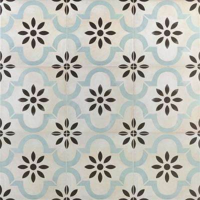 Anabella Prado 9 in. x 9 in. x 11mm Matte Porcelain Floor and Wall Tile (10.76 sq. ft. / box)