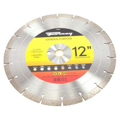 12 Premium Diamond High Speed Contractor Blade