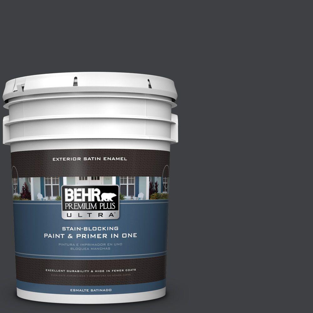BEHR Premium Plus Ultra 5-gal. #BXC-02 Bauhaus Satin Enamel Exterior Paint