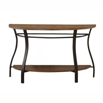 Denise Oak Sofa Table