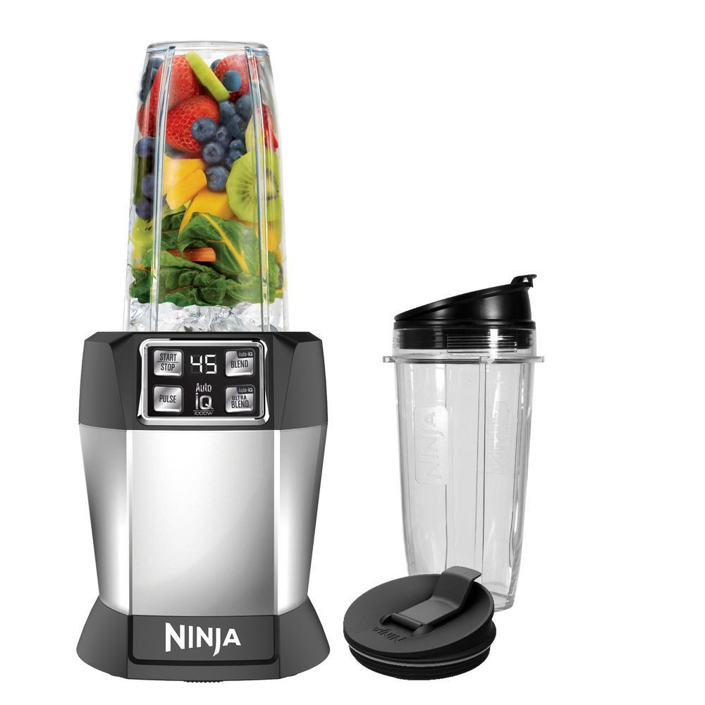 Nutri Ninja Auto iQ High Speed Single Serve Blender