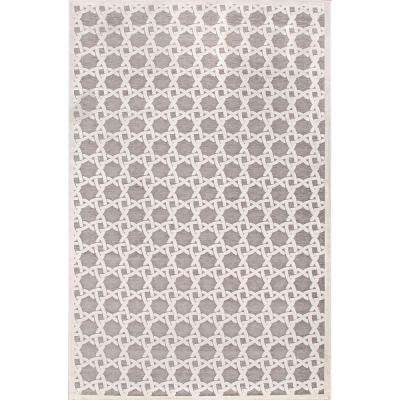 Machine Made Quarry 5 ft. x 8 ft. Trellis Area Rug