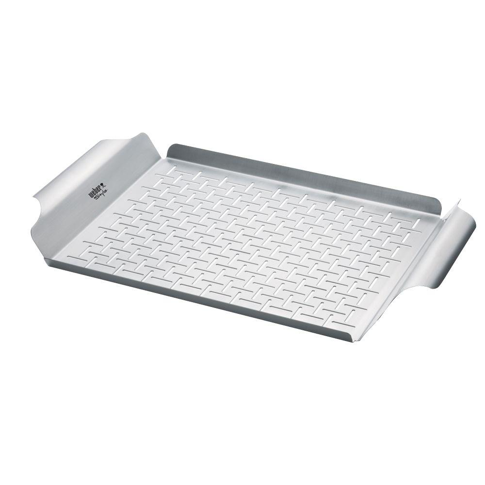 Weber Stainless Steel Grill Pan